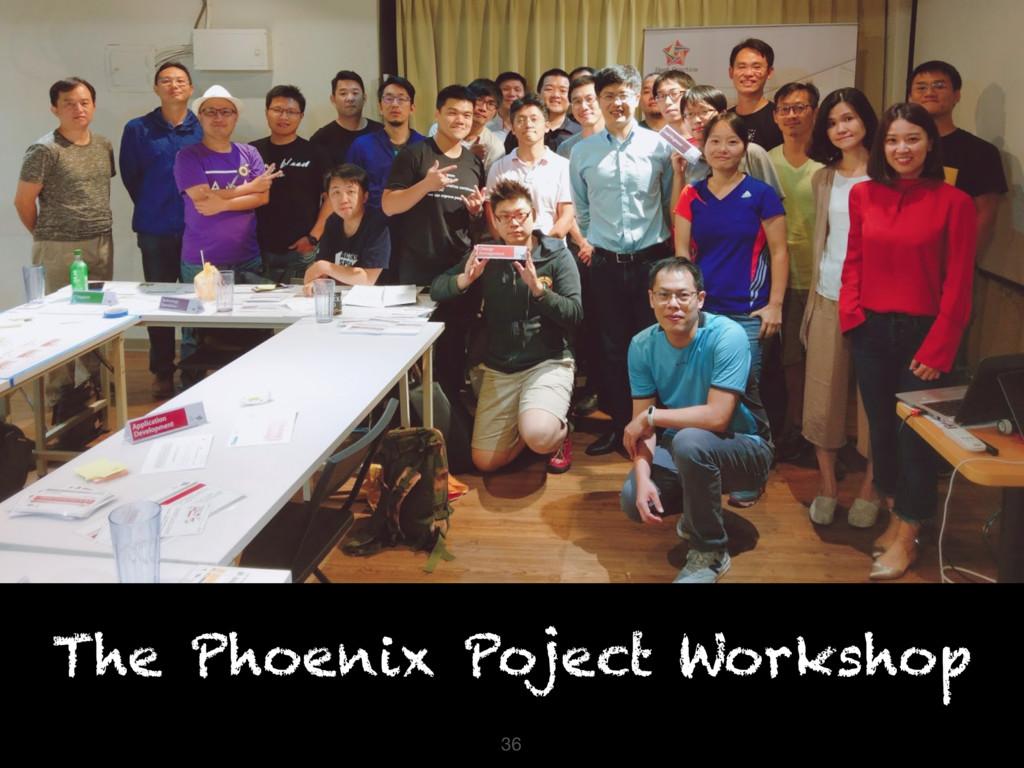 36 The Phoenix Poject Workshop