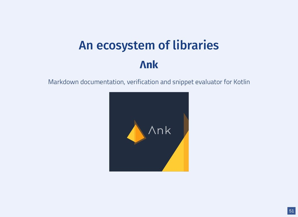 An ecosystem of libraries Λnk Markdown document...
