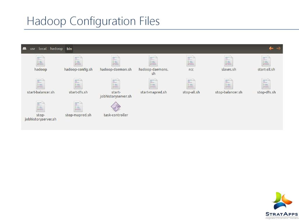 Hadoop Configuration Files