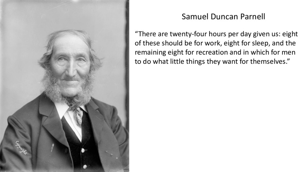 """""""There are twenty-four hours per day given us: ..."""