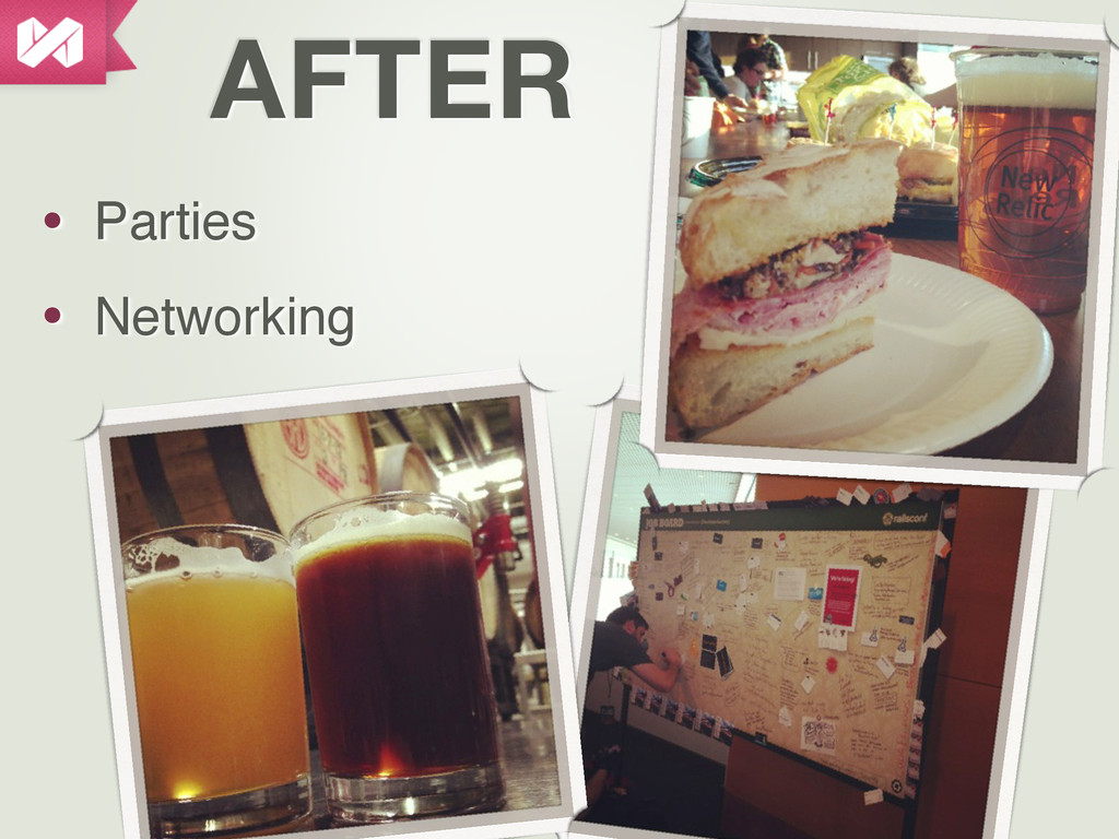 AFTER • Parties • Networking