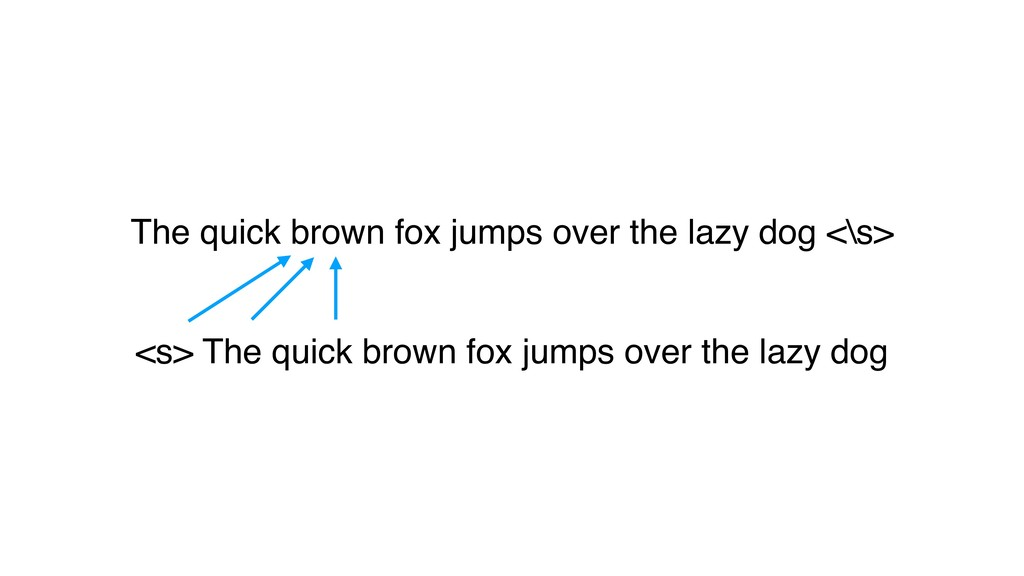 The quick brown fox jumps over the lazy dog <\s...