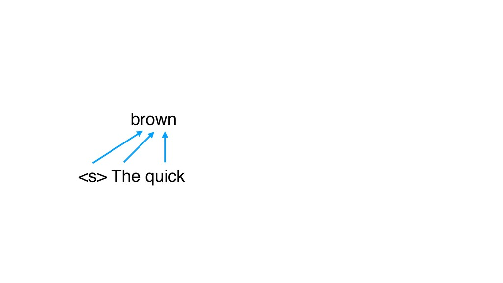 <s> The quick brown