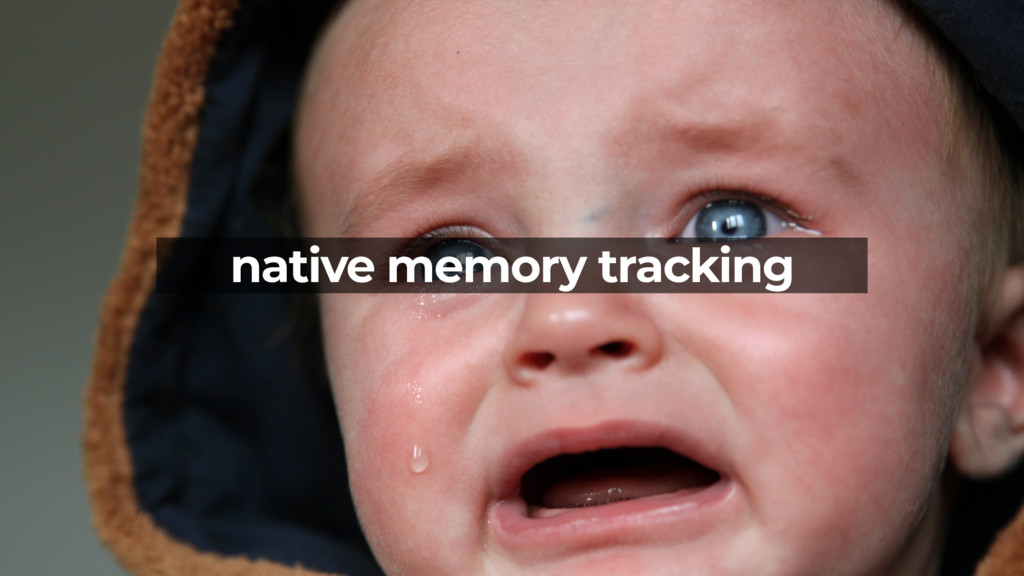 native memory tracking