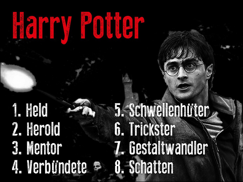 Harry Potter 1. Held			 			 		 5. Schwellenhüte...