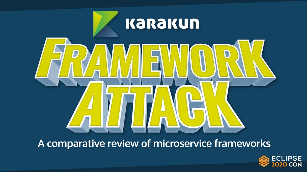A comparative review of microservice frameworks