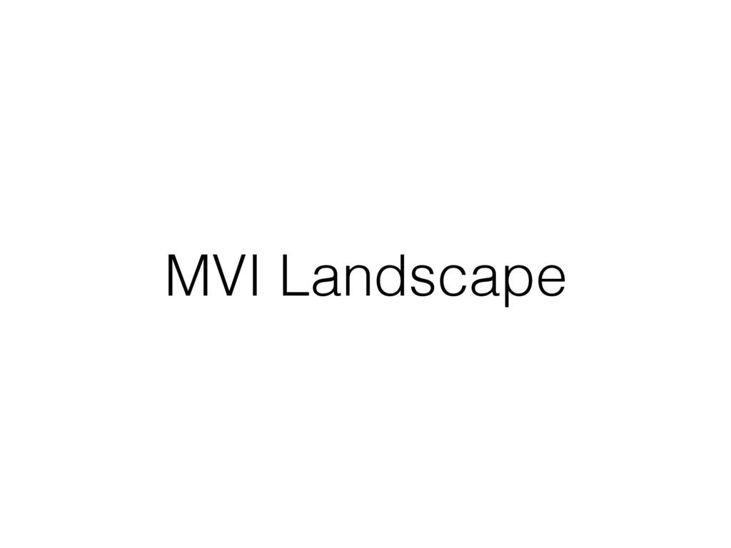 MVI Landscape