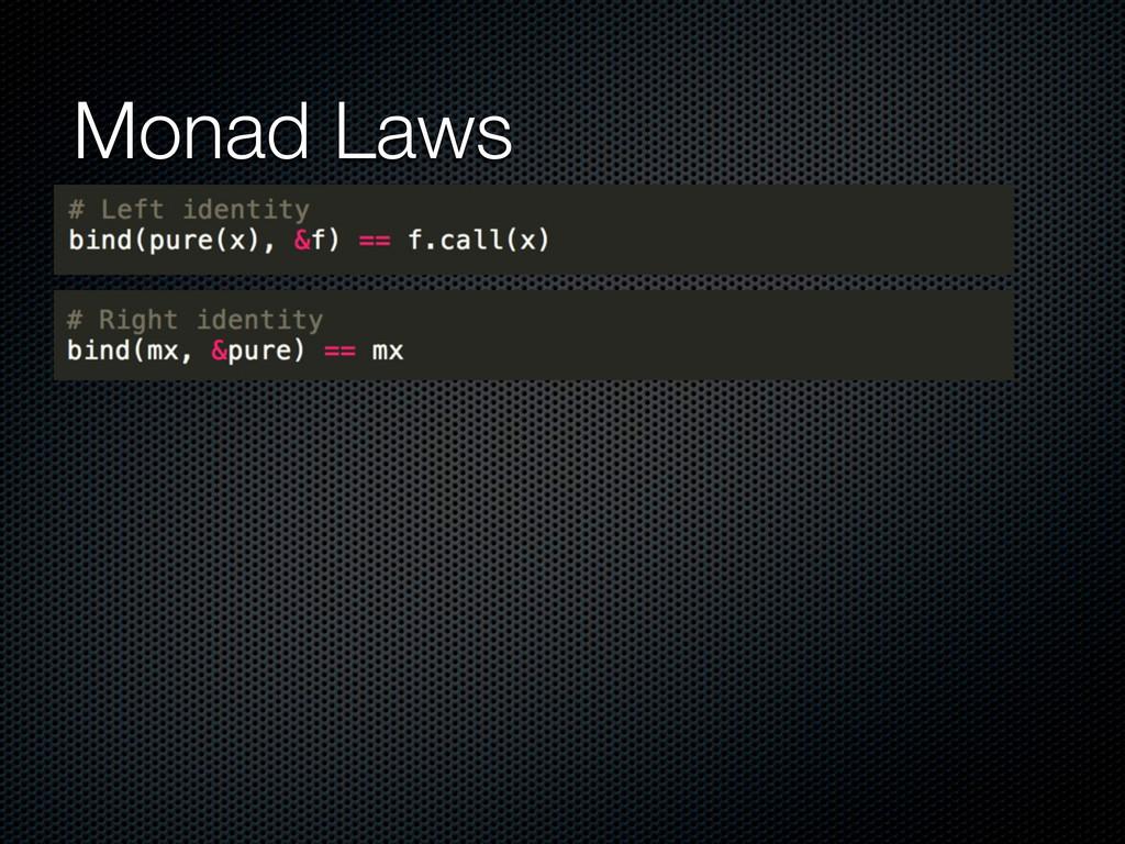 Monad Laws