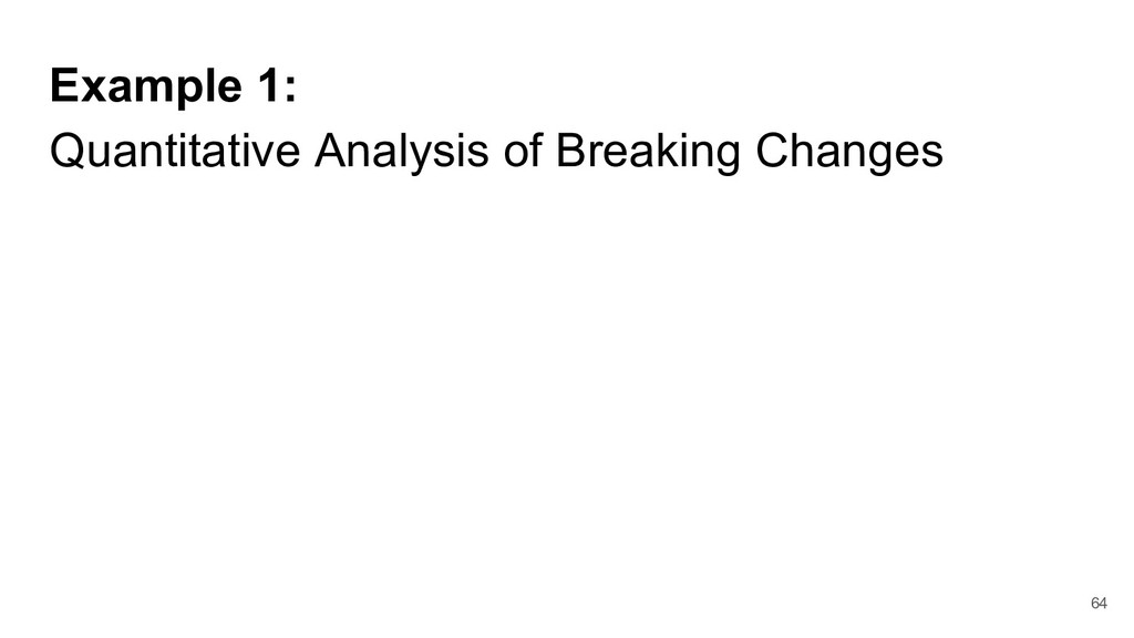 Example 1: Quantitative Analysis of Breaking Ch...