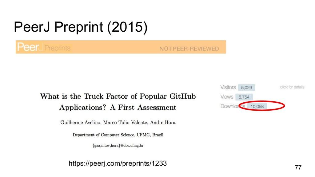 PeerJ Preprint (2015) 77 https://peerj.com/prep...