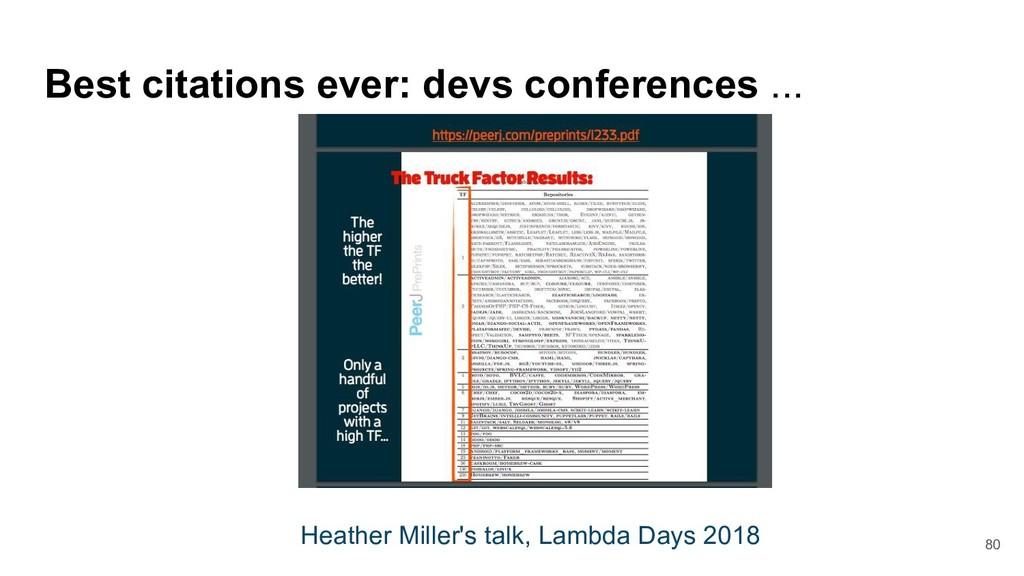 80 Best citations ever: devs conferences ... He...