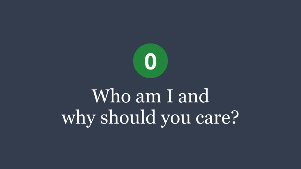 Who am I and 