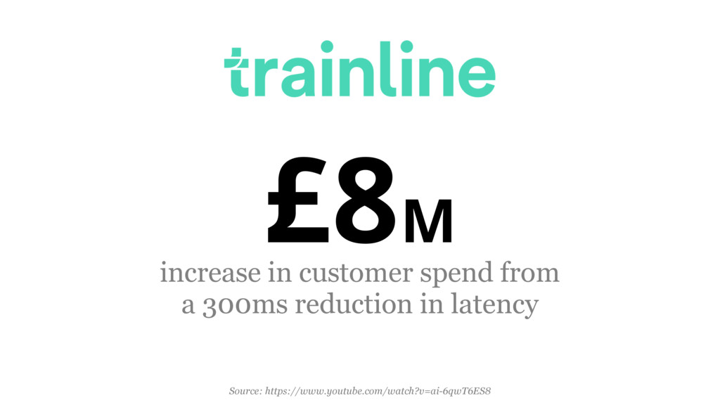 £8M increase in customer spend from 