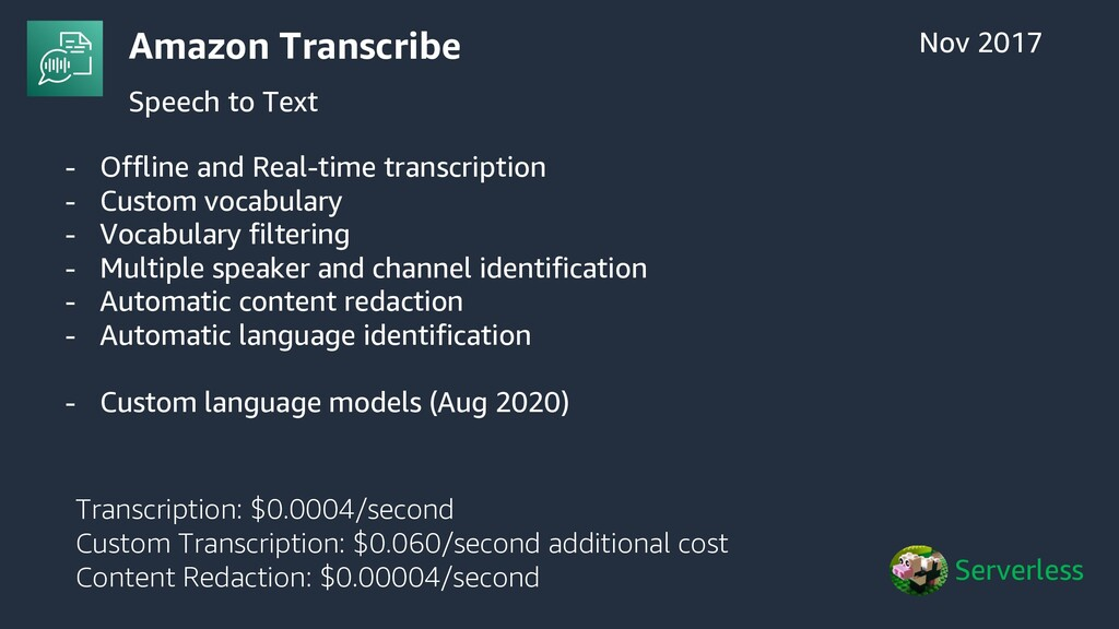 - Offline and Real-time transcription - Custom ...