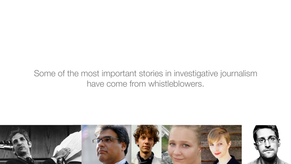 Some of the most important stories in investiga...