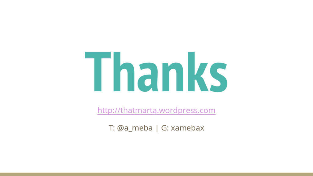 Thanks http://thatmarta.wordpress.com T: @a_meb...