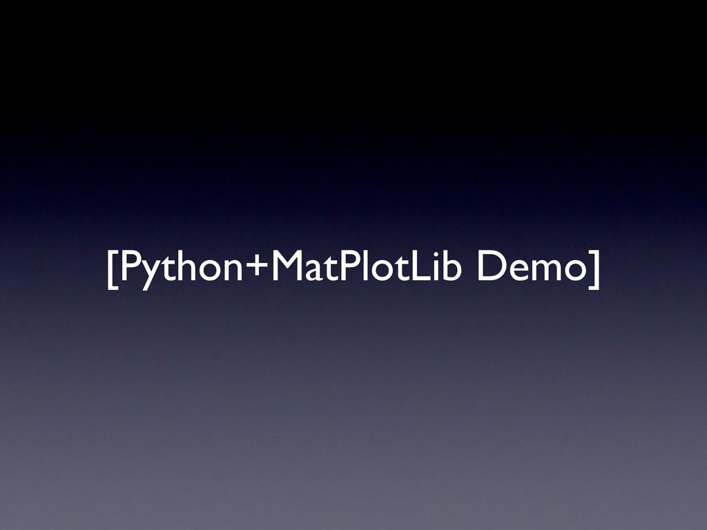 [Python+MatPlotLib Demo]