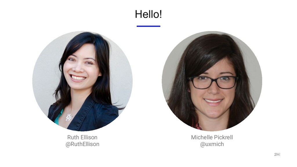 2 Ruth Ellison @RuthEllison Hello! Michelle Pi...
