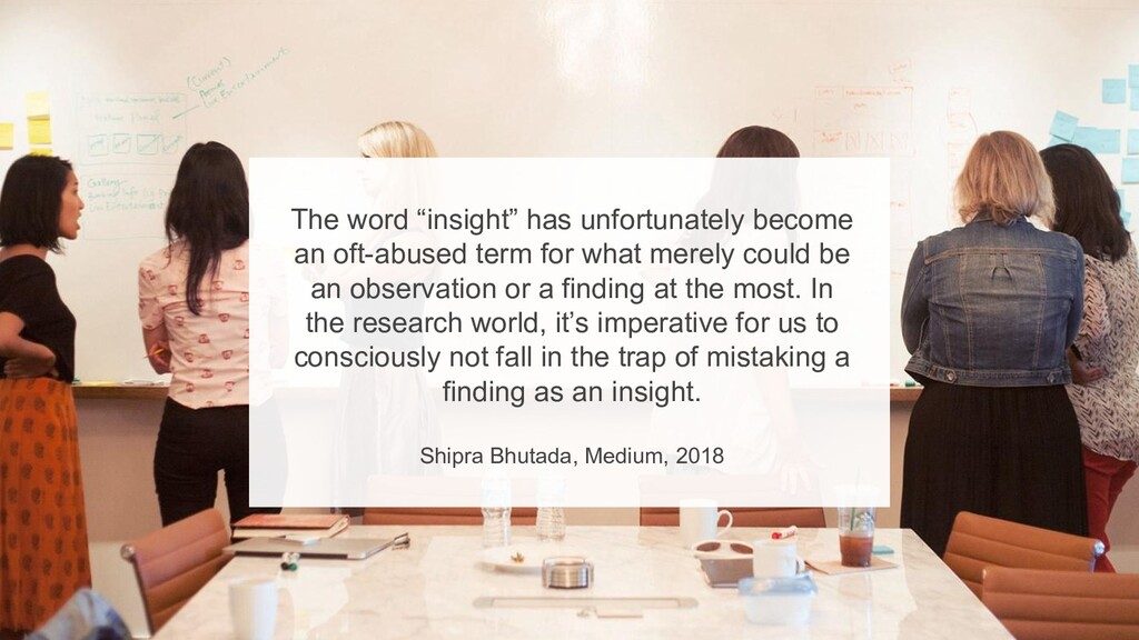 """6 The word """"insight"""" has unfortunately become ..."""