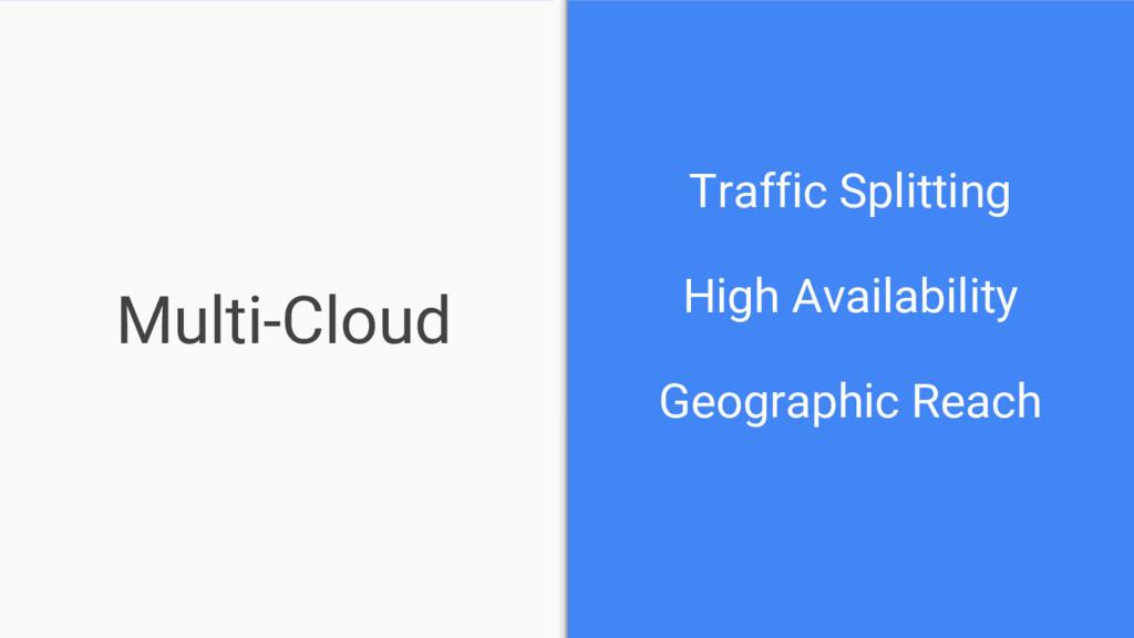 Multi-Cloud Traffic Splitting High Availability...