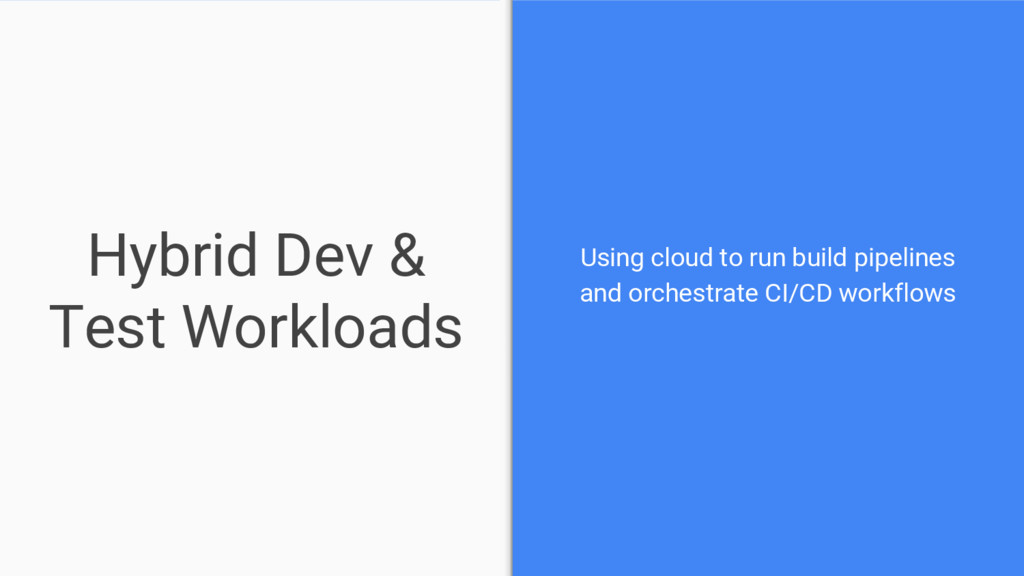 Hybrid Dev & Test Workloads Using cloud to run ...