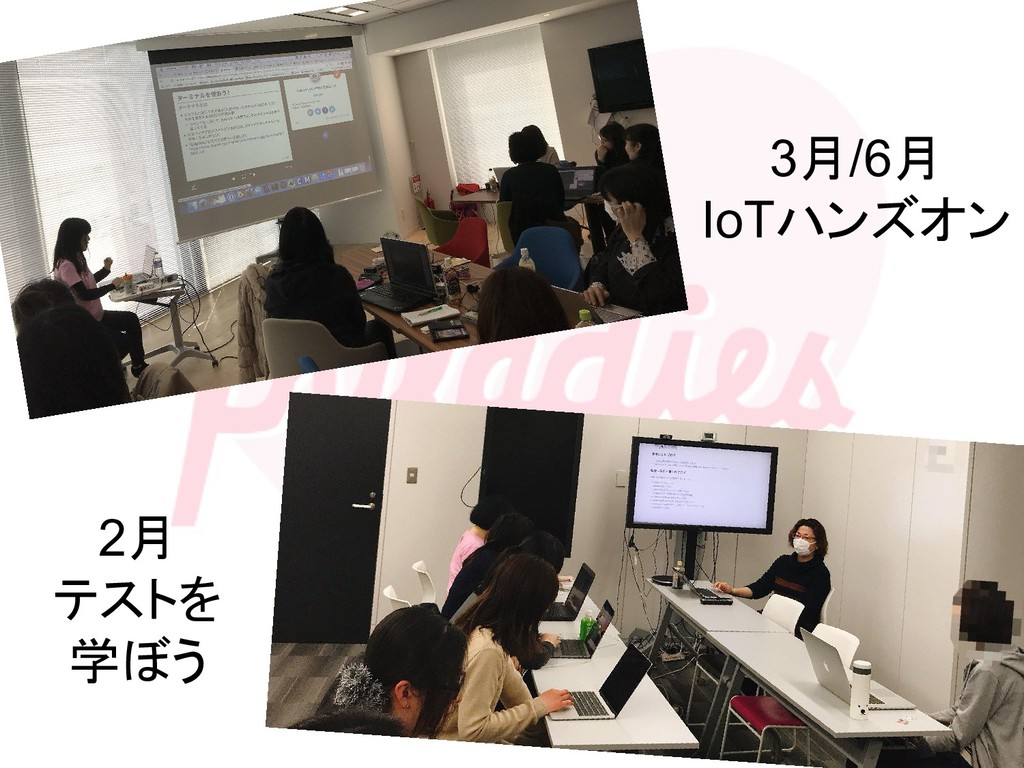 3月/6月 IoTハンズオン 2月 テストを 学ぼう