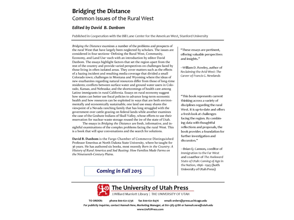 Bridging the Distance Common Issues of the Rura...