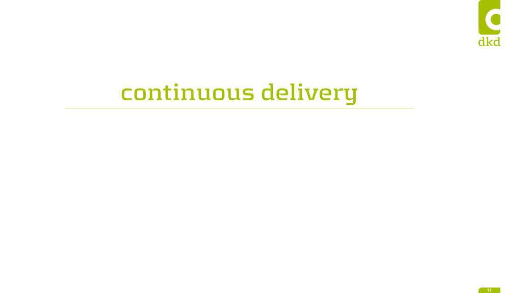 continuous delivery 11