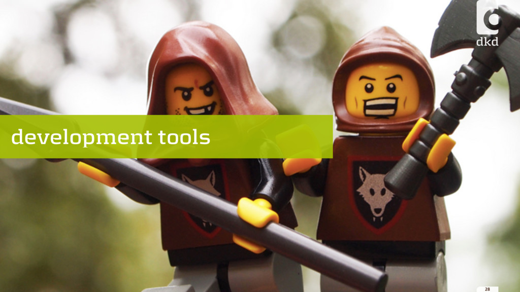 28 development tools