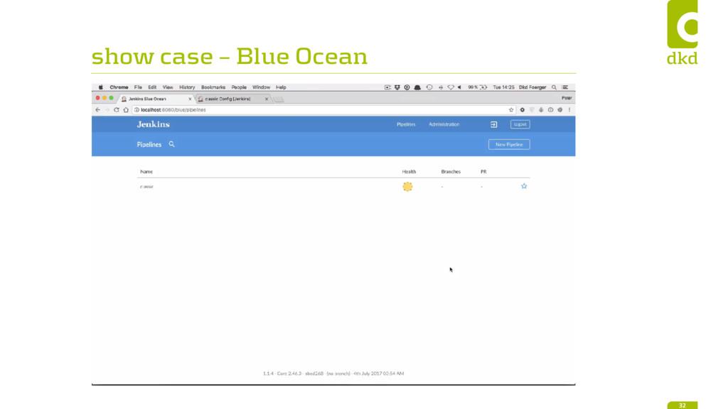 show case – Blue Ocean 32