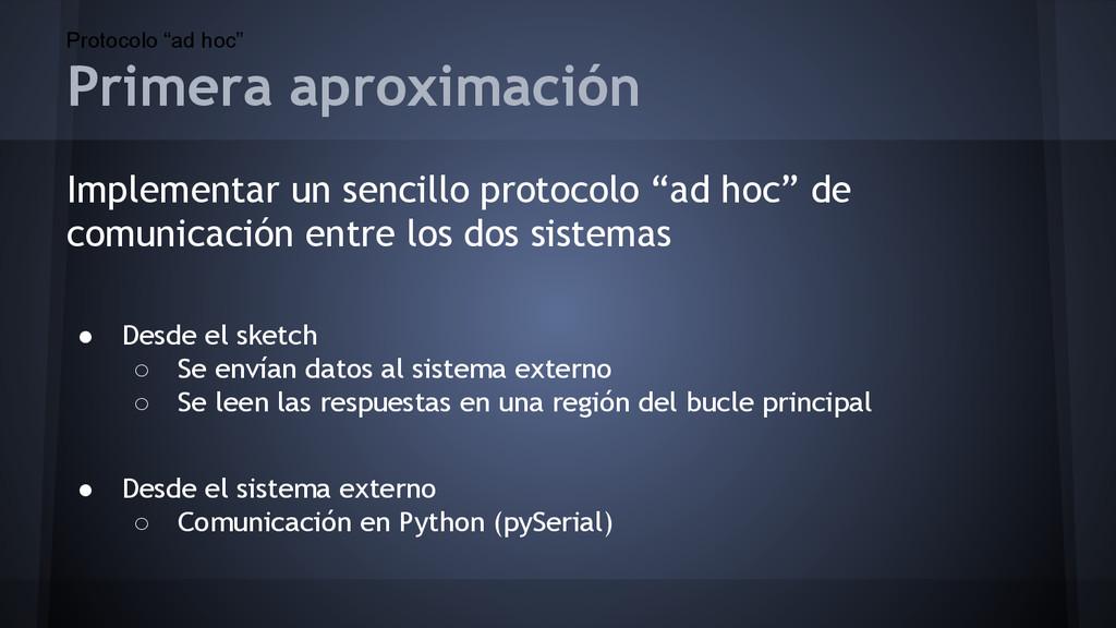 """Protocolo """"ad hoc"""" Implementar un sencillo prot..."""