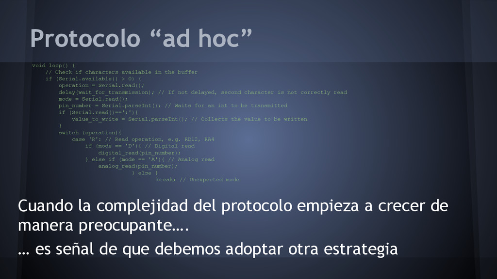"""Protocolo """"ad hoc"""" Cuando la complejidad del pr..."""
