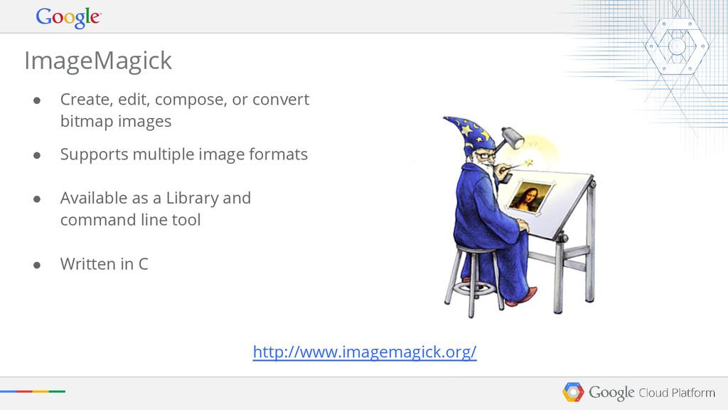 ● Create, edit, compose, or convert bitmap imag...