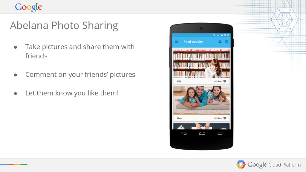 ● Take pictures and share them with friends ● C...