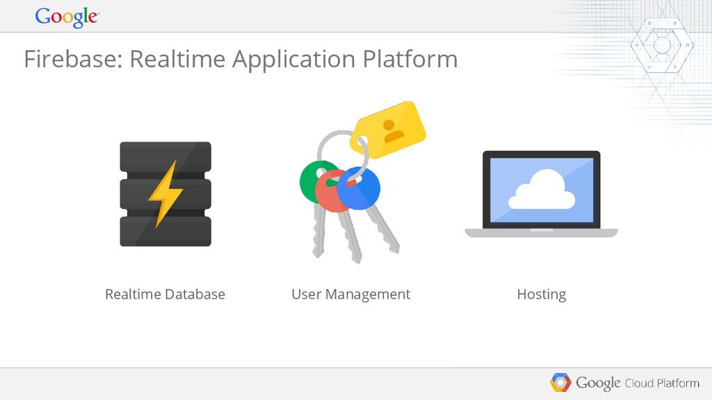 Firebase: Realtime Application Platform Realtim...
