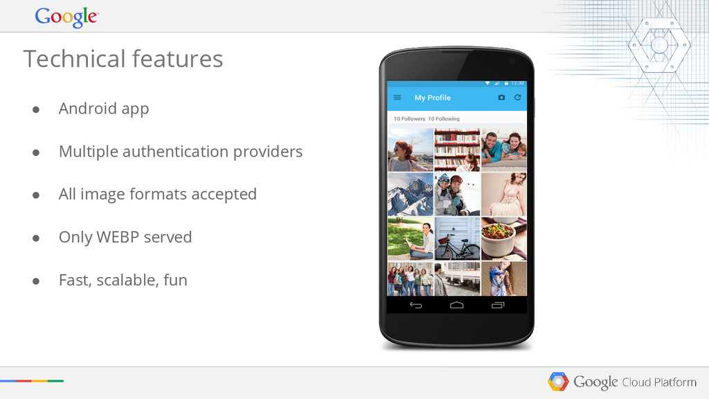 Technical features ● Android app ● Multiple aut...