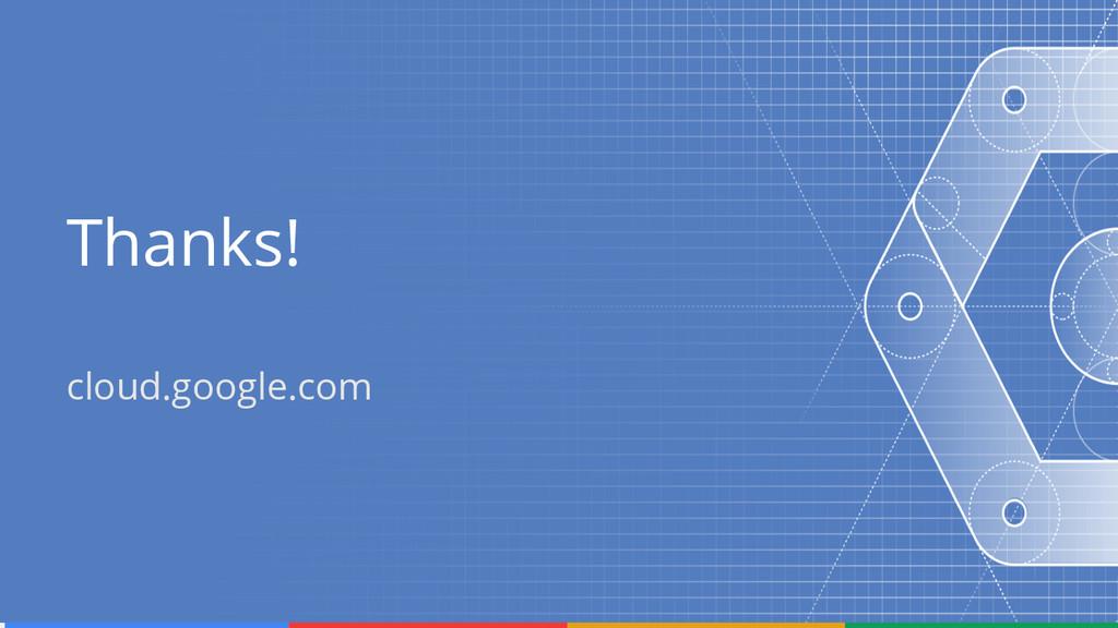 Thanks! cloud.google.com