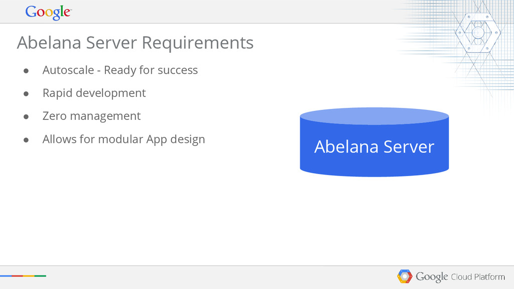 Abelana Server Requirements ● Autoscale - Ready...