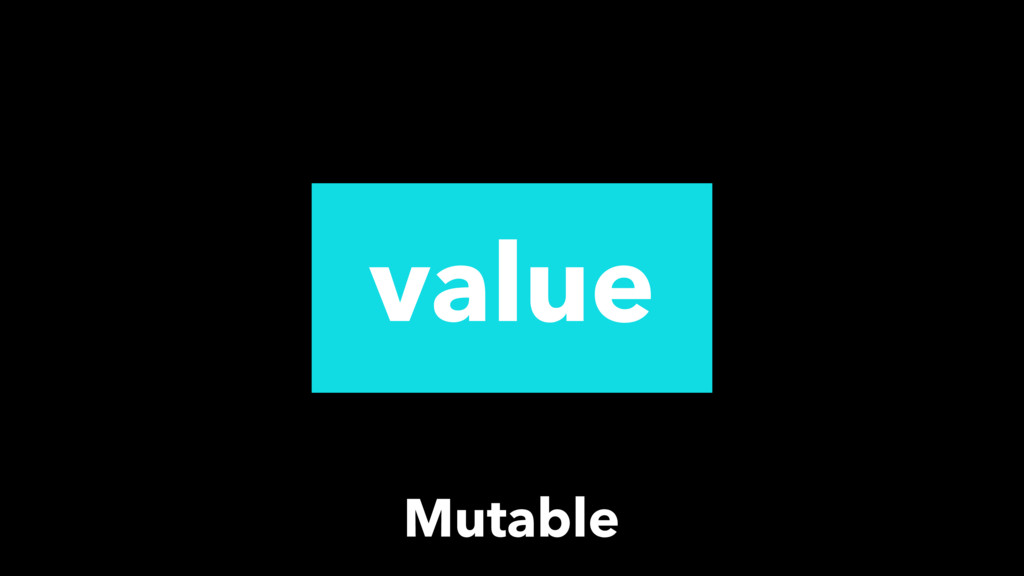 value Mutable