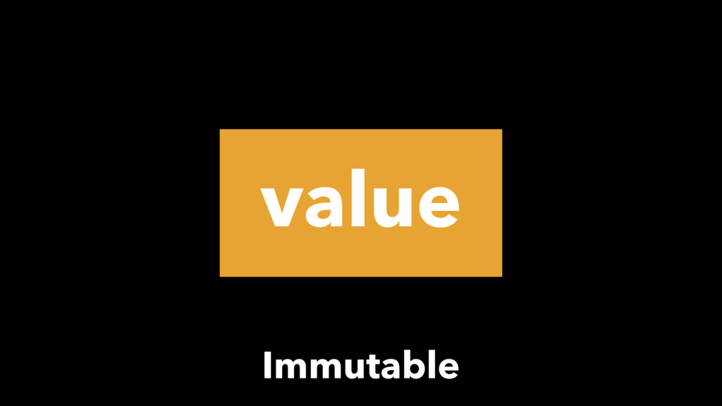 value Immutable
