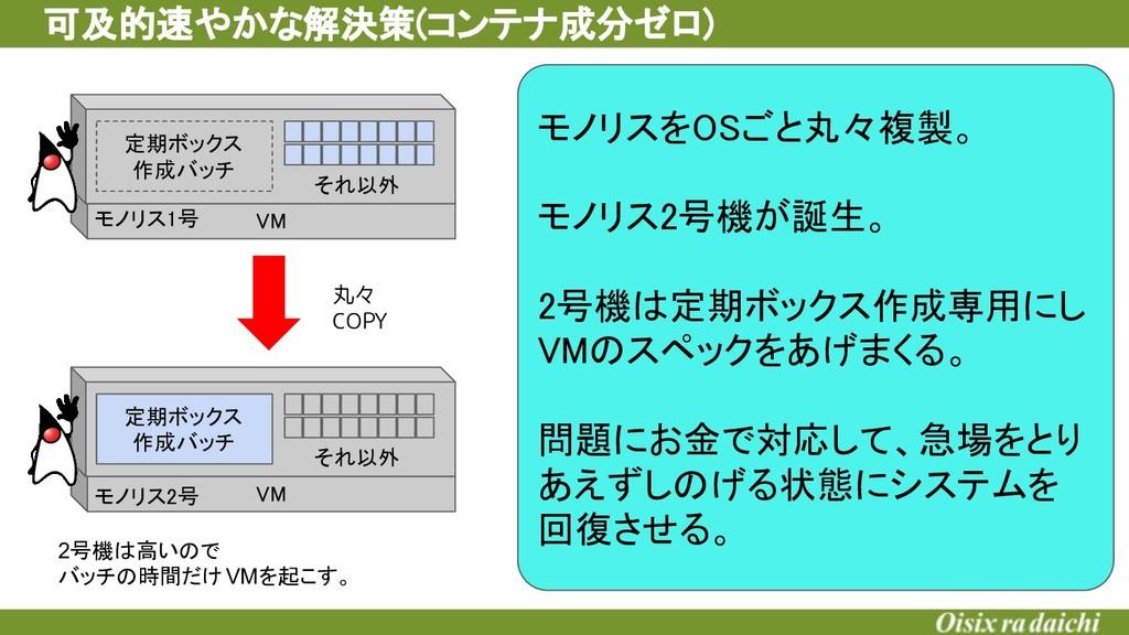 VM 定期ボックス 作成バッチ それ以外 VM 定期ボックス 作成バッチ それ以...