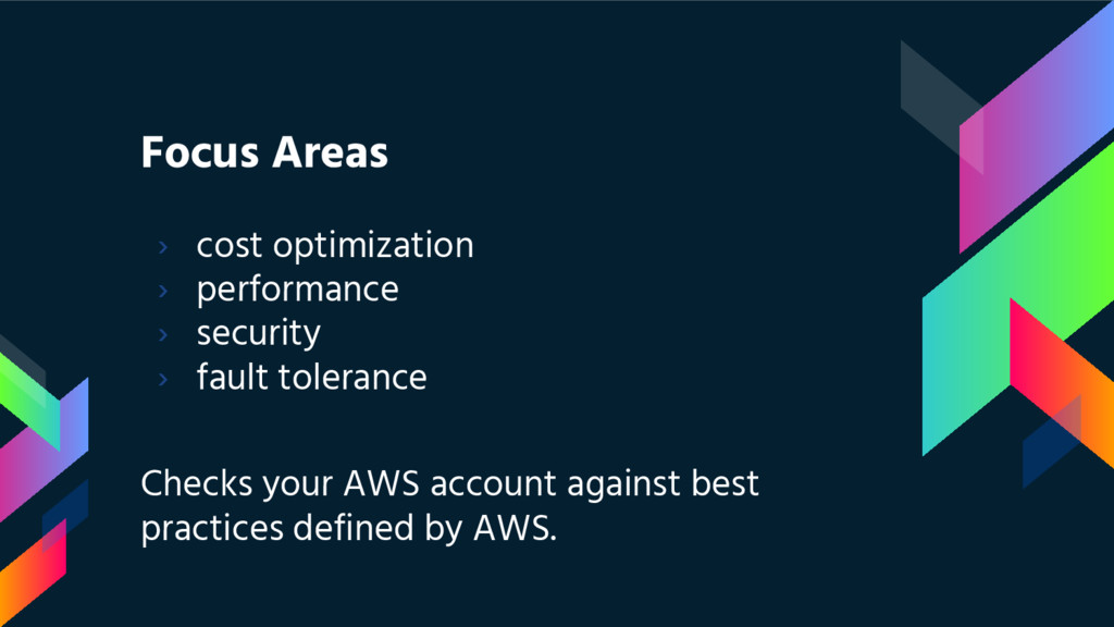Focus Areas › cost optimization › performance ›...