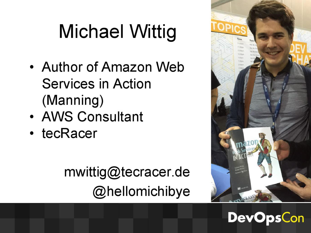 Michael Wittig • Author of Amazon Web Services ...
