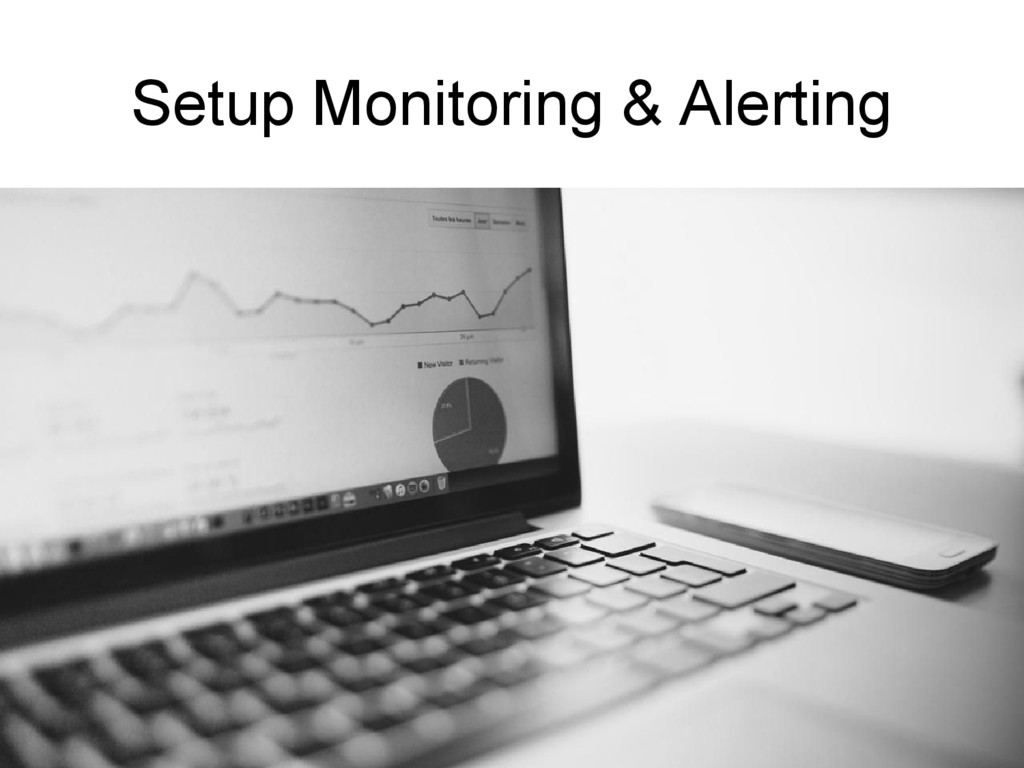 Setup Monitoring & Alerting