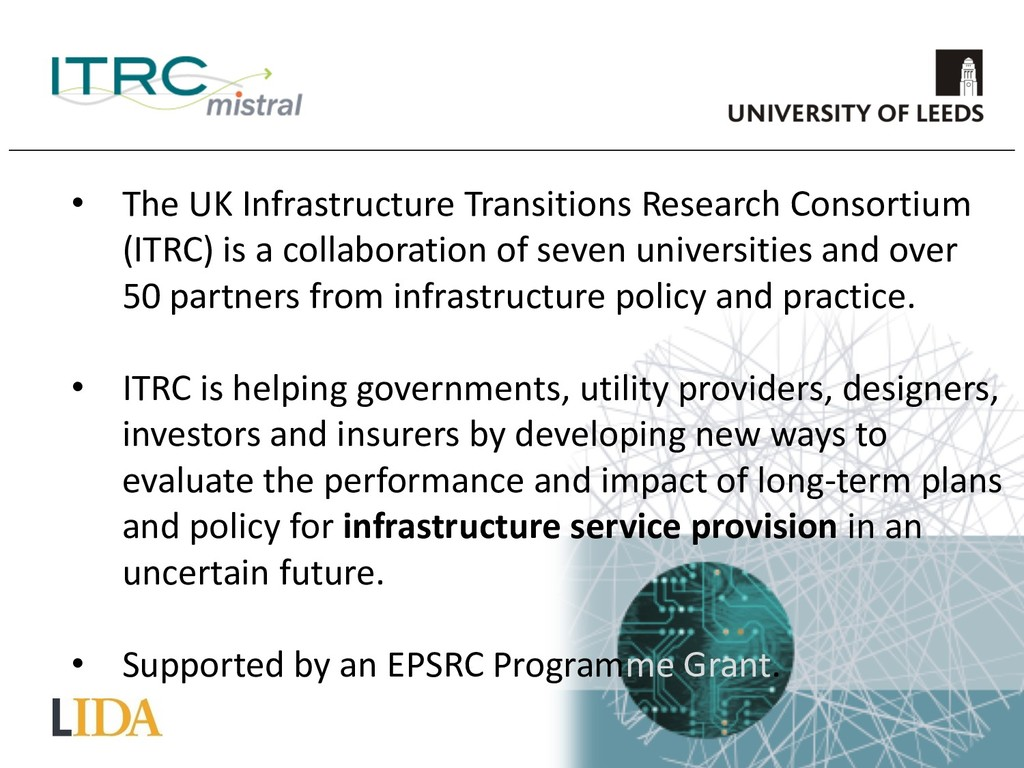 • The UK Infrastructure Transitions Research Co...