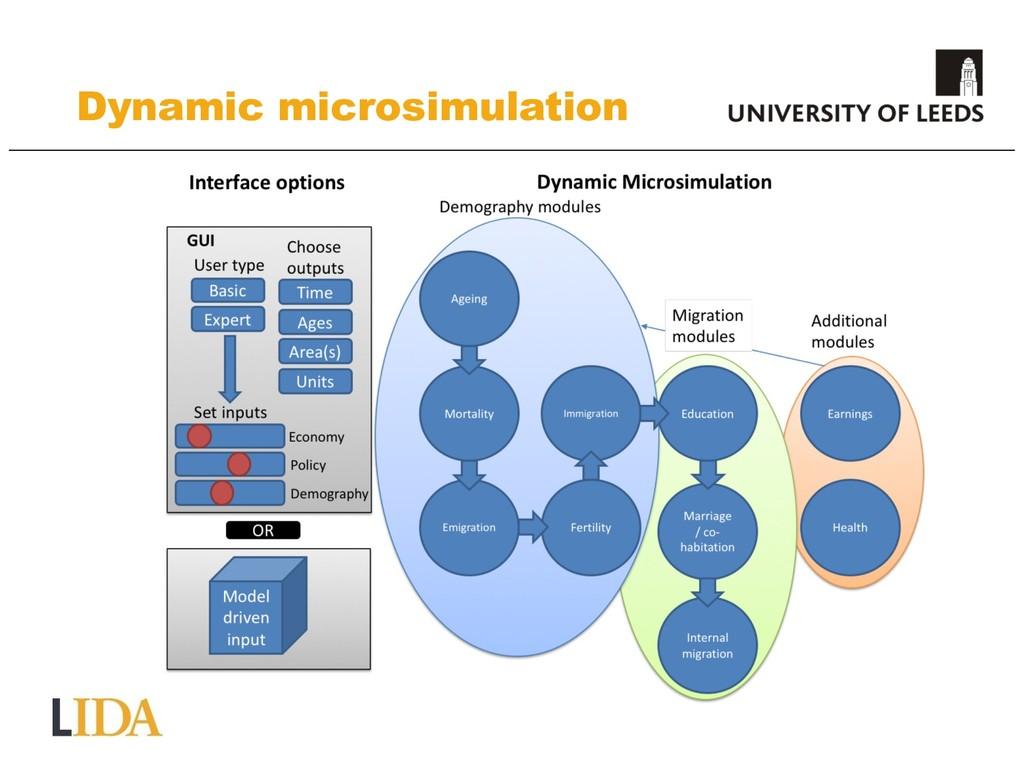 Dynamic microsimulation