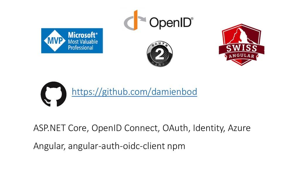 https://github.com/damienbod ASP.NET Core, Open...