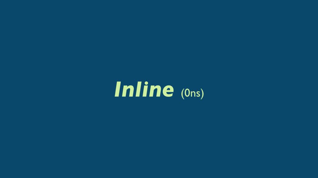 Inline (0ns)