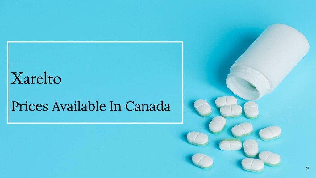 Xarelto Prices Available In Canada 9