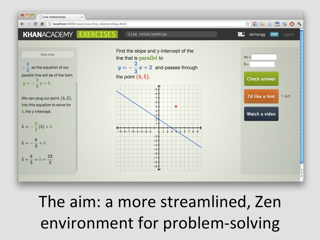 The aim: a more streamlined, Zen...